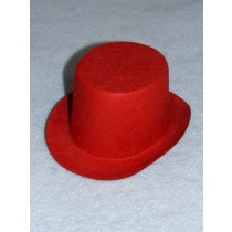 "Hat - Top - 5 1_2"" Red"