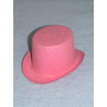 "Hat - Top - 5"" Pink"