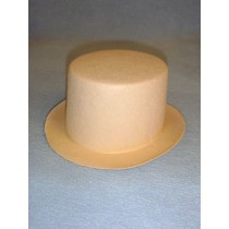 "Hat - Top - 7"" Beige"