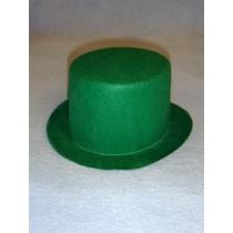 "Hat - Top - 7"" Green"