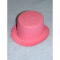 "Hat - Top - 7"" Pink"