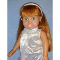 "|Headband & Scarf - 18"" Dolls"