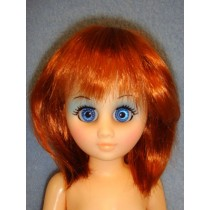 "Heidi  Wig 6-7"" Carrot Red"