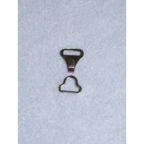 "Hook & Eye - 3_8"" Nickel-2 Sets"
