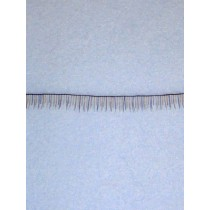 Human Hair Eyelash Strip - Darker Brown
