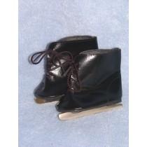 """Skates - Ice - 3 1_8"""" Black"""