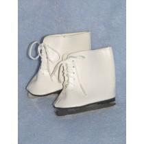 """Skates - Ice - 3 1_8"""" White"""