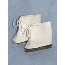 """Ice Skates - 3 1_8"""" x 1 3_4"""" White"""