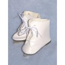 """Skates - Ice - 3"""" White"""