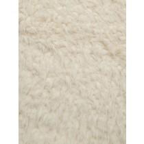 Ivory Llama Cuddle Fabric - 1 Yd