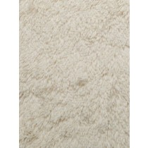Ivory Shaggy Cuddle Fabric - 1 Yd