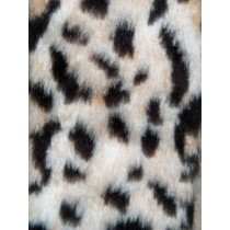 Jaguar Fur Fabric - 1 Yd