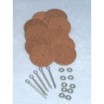 """Joints - Hardboard - 1 3_4""""  Pkg 5"""