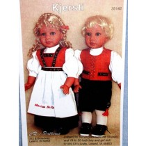 "Kit - Norwegian Girl Outfit 18""Doll"