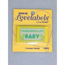 Labels - Made with Love for Baby