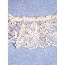 "Lace - Gathered - 2"" Ecru - 10 yd pkg"