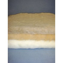 Light Colored Fur Fabric Bundle - 3 Yds