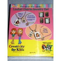 Locket Charms Jewelry Kit