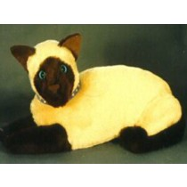"""Louise the Siamese 9"""" Cat"""
