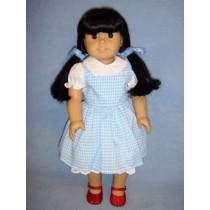 |Lt. Blue Dorothy Dress for American Girl Dolls