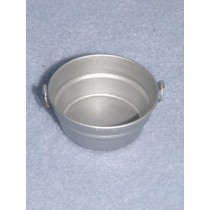 "Metal Tub - 3_4"" High x 1 3_4"" Dia"