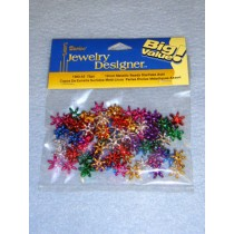 Metallic Starflake Beads 12mm 75 pcs
