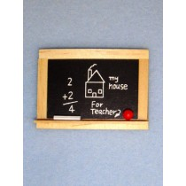 Mini Chalkboard w_Apple & Chalk