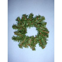 Mini Garland Wreath - 4""