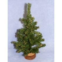 "Miniature - 12"" Christmas Tree"