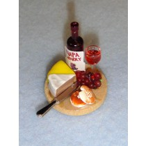 Miniature - Wine & Chesse Cutting Board