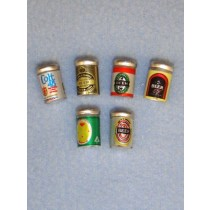 Miniature Beer Cans - Assorted