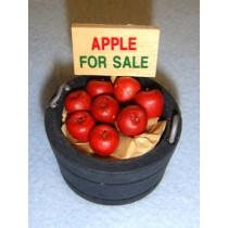 lMiniature Bucket of Apples