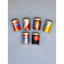 Miniature Soda Cans - Assorted