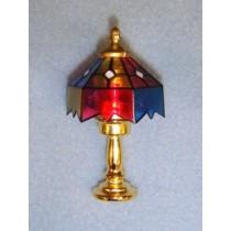 lMiniature Tiffany Lamp