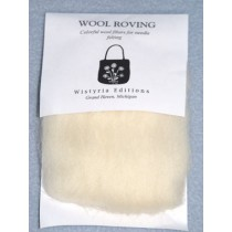 Natural Wool Roving for Needlefelting - 12