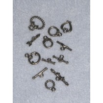 Nickel Toggle Pack - Asst