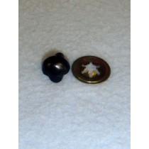 Nose - Animal - 10.5mm Plain Black Pkg_100