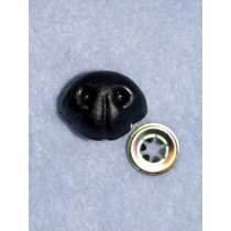 Nose - Bear - 18mm Black Pkg_100