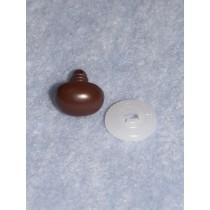 Nose - Oval - 13mm Brown Pkg_10