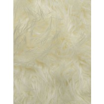 Off White Mongolian Fur - 1 Yd