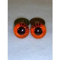 Owl Eye - 12mm Amber Pkg_100