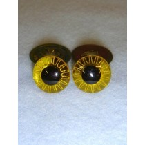 Owl Eye - 12mm Yellow Pkg_100