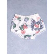 "Panties - Knit - 5"" Asst Prints"