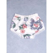 "Panties - Knit - 5"" Asst Prints"