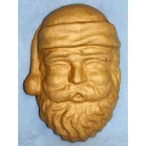 "Paper Mache - Santa Face - 14"""