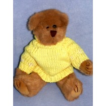 "Pastel Bear Sweater - Asst Colors - Fits 10-12"" Animal"