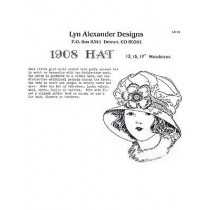 "Pattern - 1908 Hat 13-15-17"" Heads"