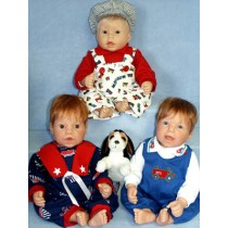 """Pattern - 20"""" Outfits for Boys"""