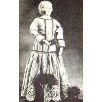 "Pattern - 21"" Alice Costume"