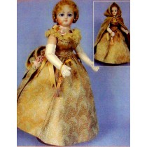 "Pattern - Ball Gown - 11 1_2"" Doll"